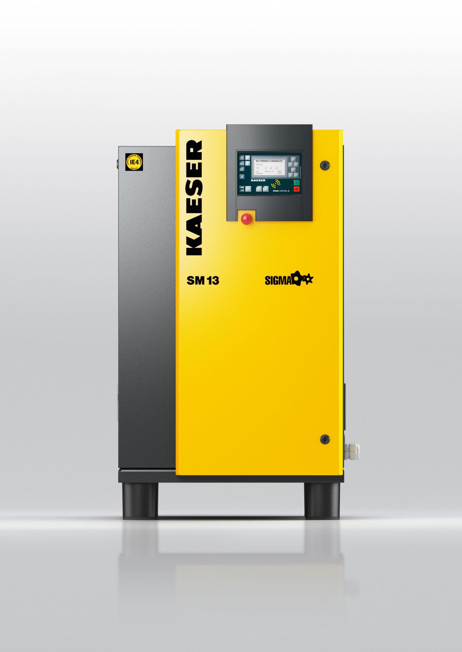 Compresseur a vis compacts puissants type SM kaeser Image